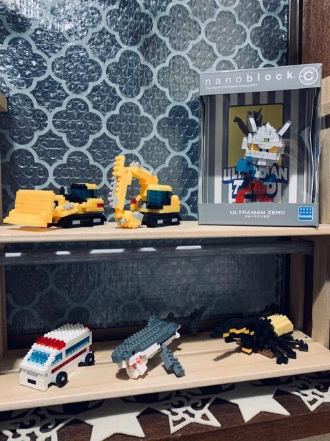 ナノブロック 飾る 棚 DIY すのこ 簡単